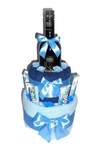 Törölköző torta férfinak - Törölköző torta - Különleges torta ... 9d2c3be1e0
